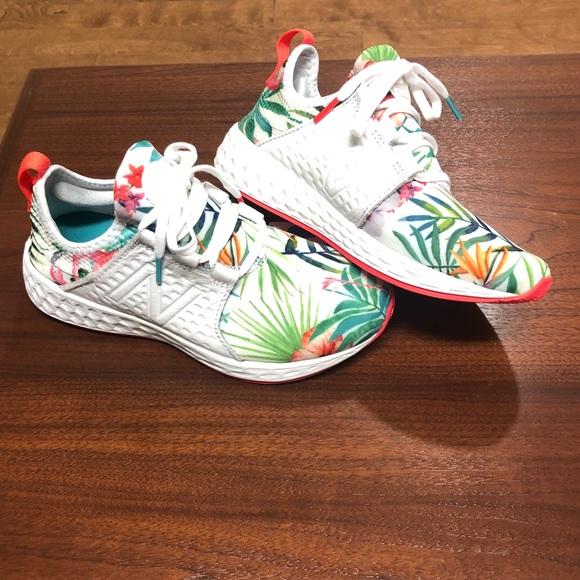 00088e7a0f639 New Balance Shoes | Womens Floral Cruz Sneaker Nwt 65 | Poshmark